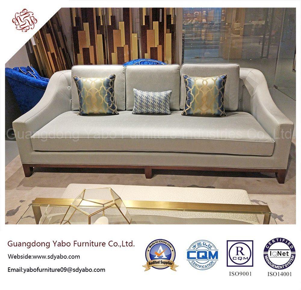 Popular Hotel Furniture with Living Room Three Seat Sofa (YB-LC301)