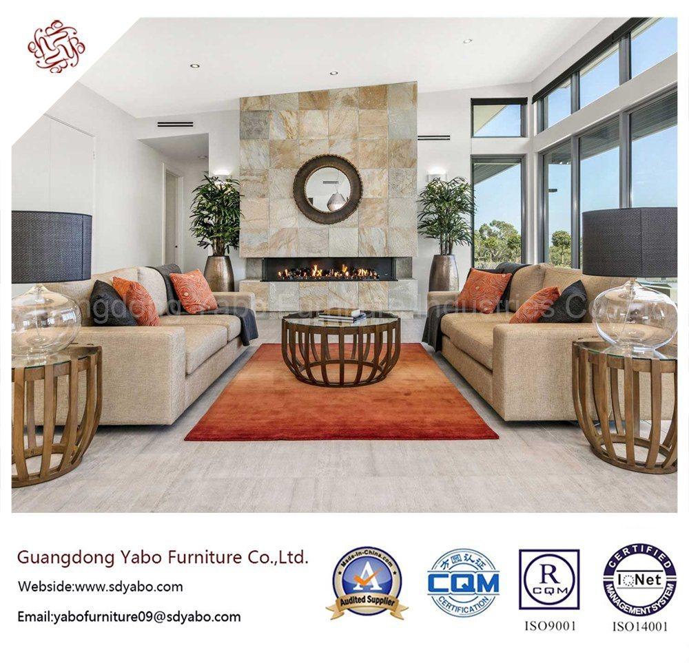 Stylish Hotel Bedroom Furniture with Living Room Sofa Set (YB-H-7)