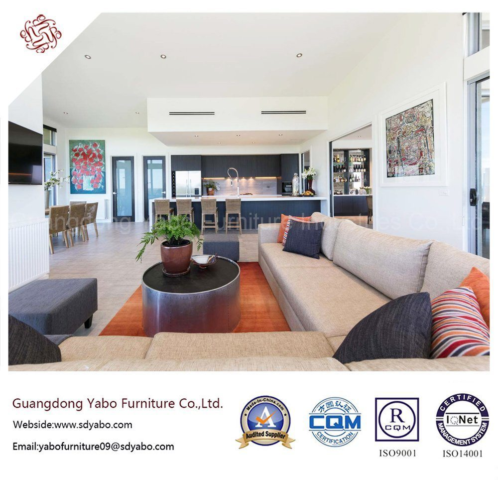 Fabulous Hotel Bedroom Furniture with Living Room Corner Sofa (YB-H-8)