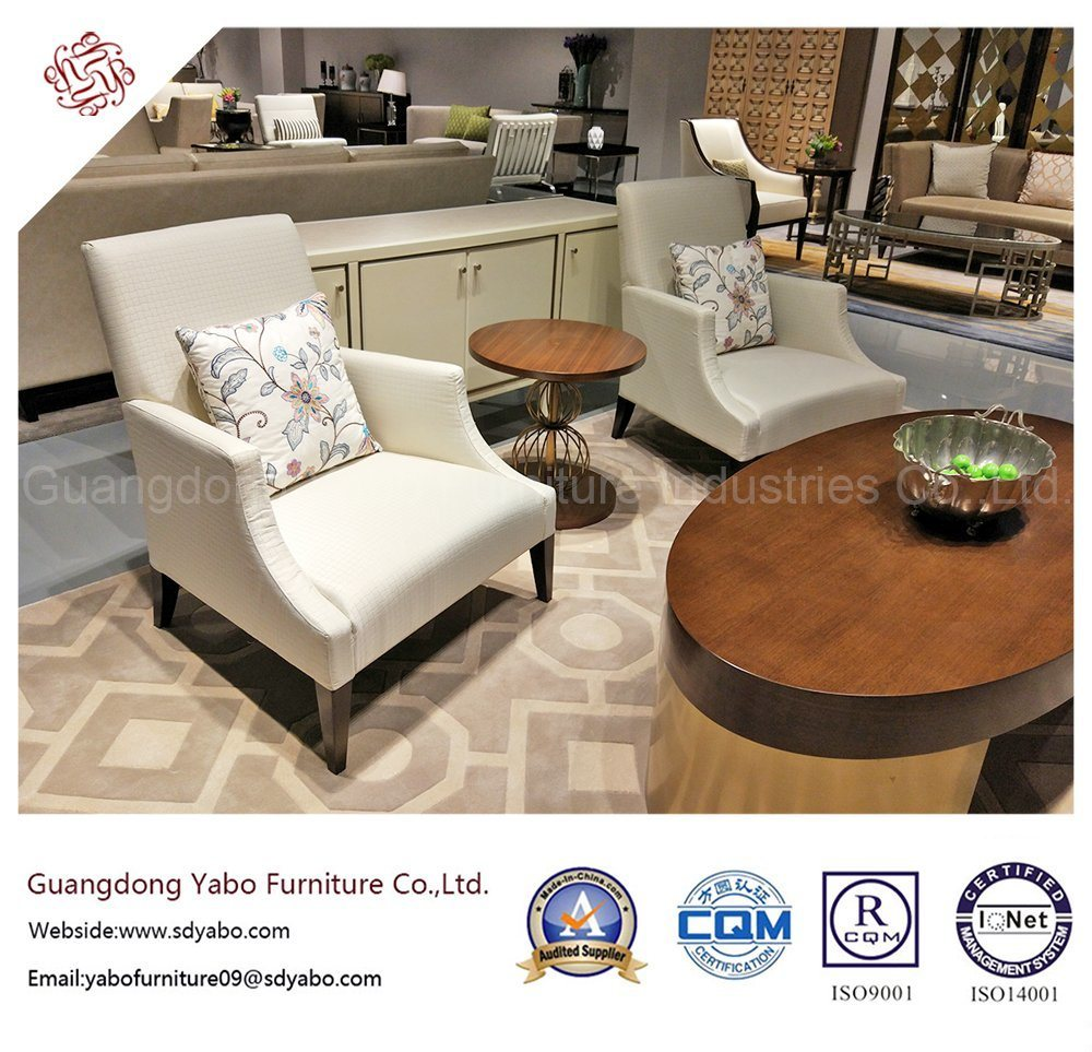 Creative Hotel Furniture with Living Room Fabric Armchair (YB-D-6)