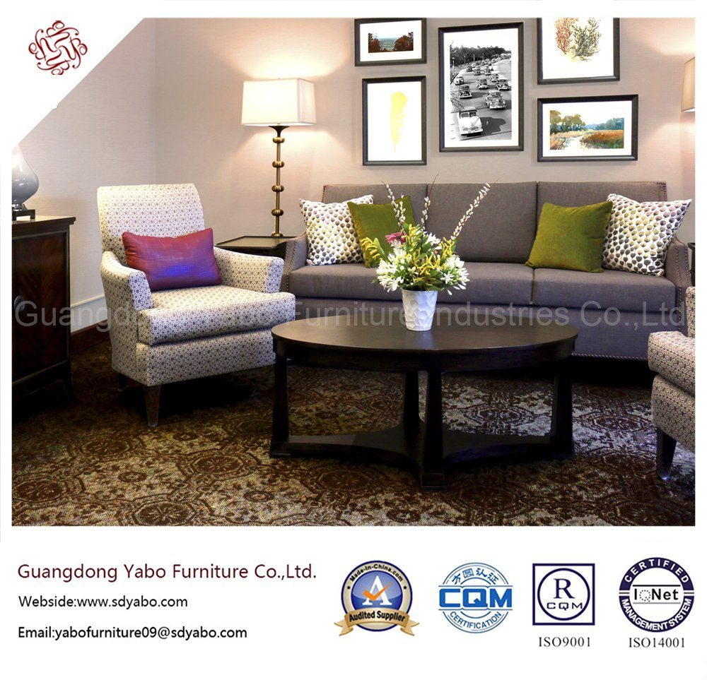 Fantanstic Hotel Bedroom Furniture with Living Room Sofa Set (YB-H-11)