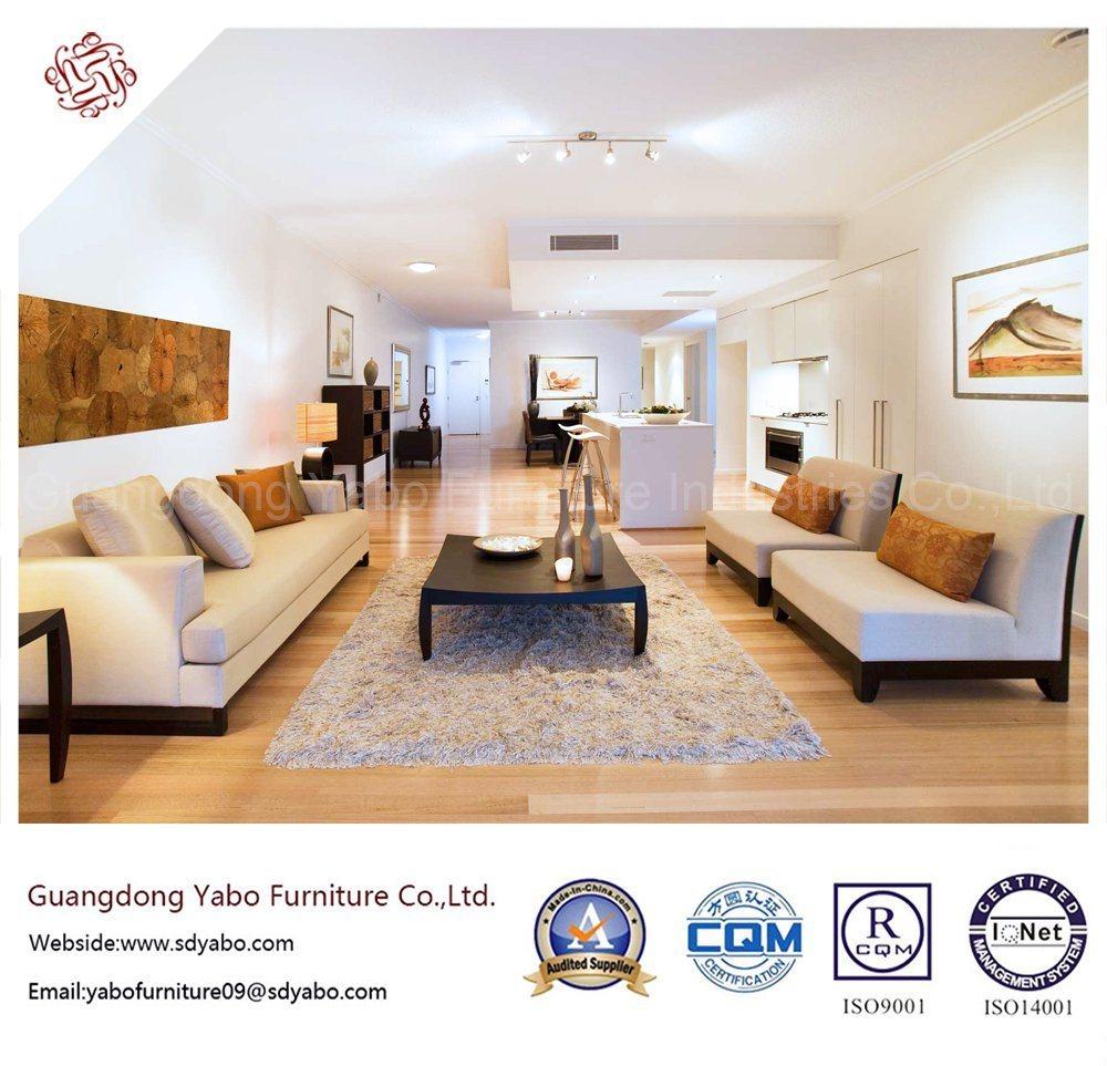 Stylish Hotel Bedroom Furniture with Living Room Sofa Set (YB-H-12)