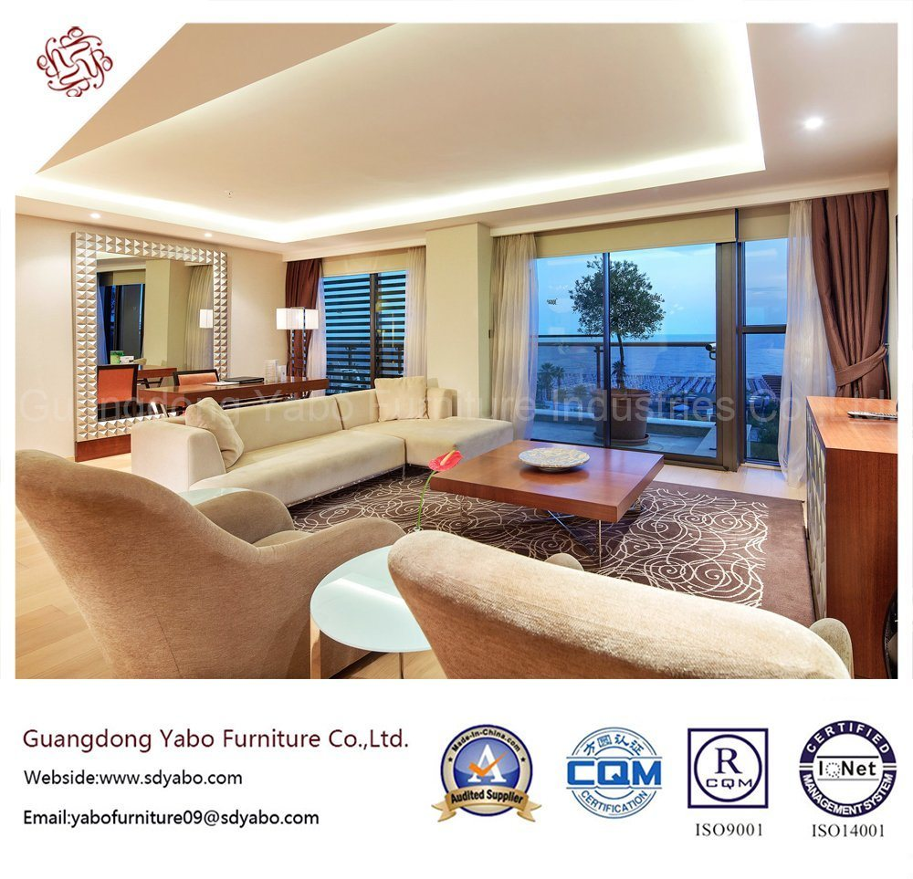 Excellent Hotel Furniture with Living Room Sofa Set (YB-S-19)