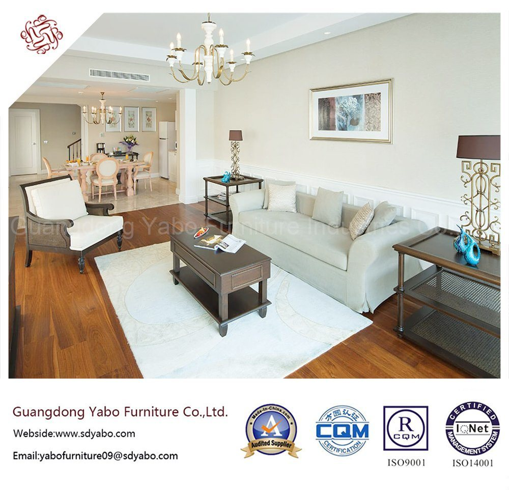 Excellent Hotel Living Room Furniture with Sofa Set (YB-S-24)