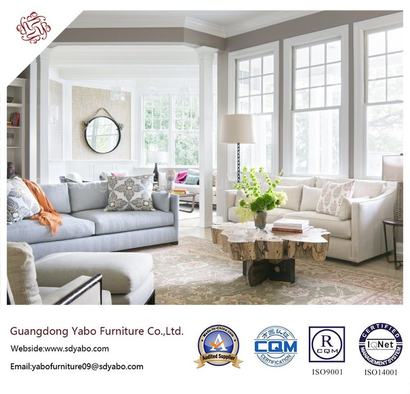 Delicate Hotel Furniture with Living Room Fabric Sofa Set (YB-S-30)