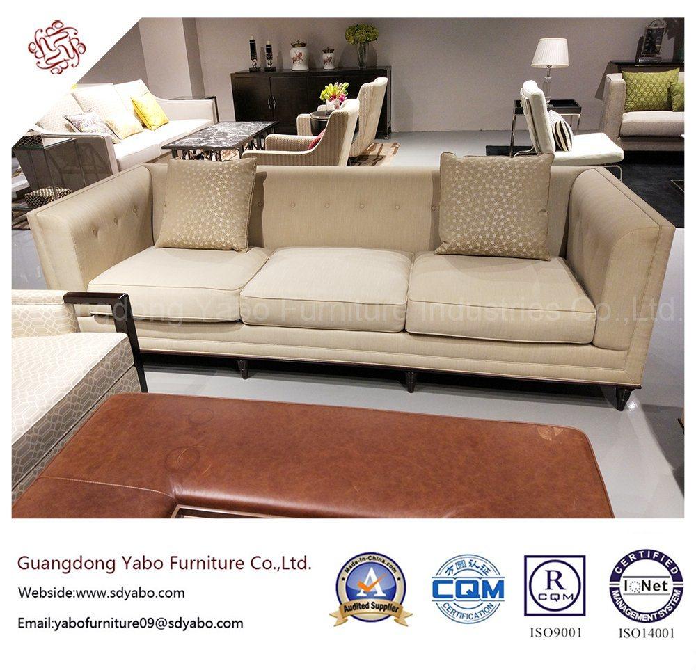 Custom Made Hotel Furniture with Lobby Fabric Sofa (YB-O-38)