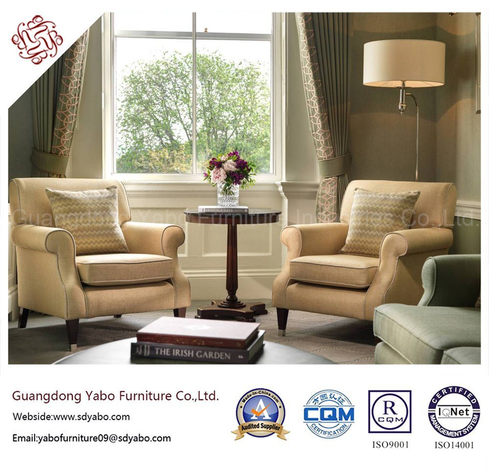 Commerical Hotel Furniture with Living Room Single Sofa (YB-G-14-1)