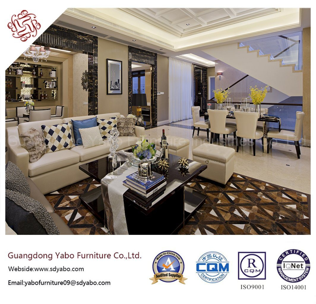Contemporary Hotel Furniture with Living Room Sofa Set (YB-O-65)