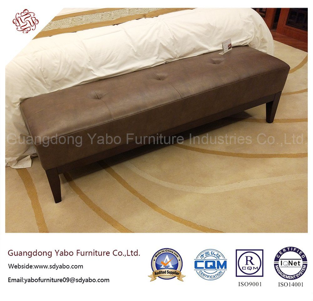 Commerical Hotel Furniture with Leather Bed Bench (YB-O-19)