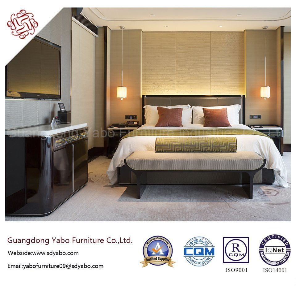 Good Design Hotel Bedroom Furniture with Modern Style Bed (YB-WS-39)