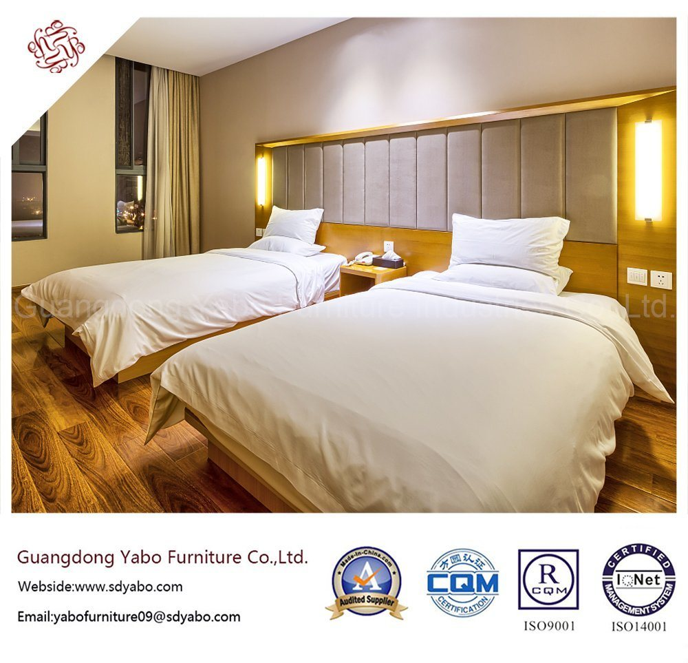 Contemporary Hotel Bedroom Furniture with Standard Bed (YB-42)