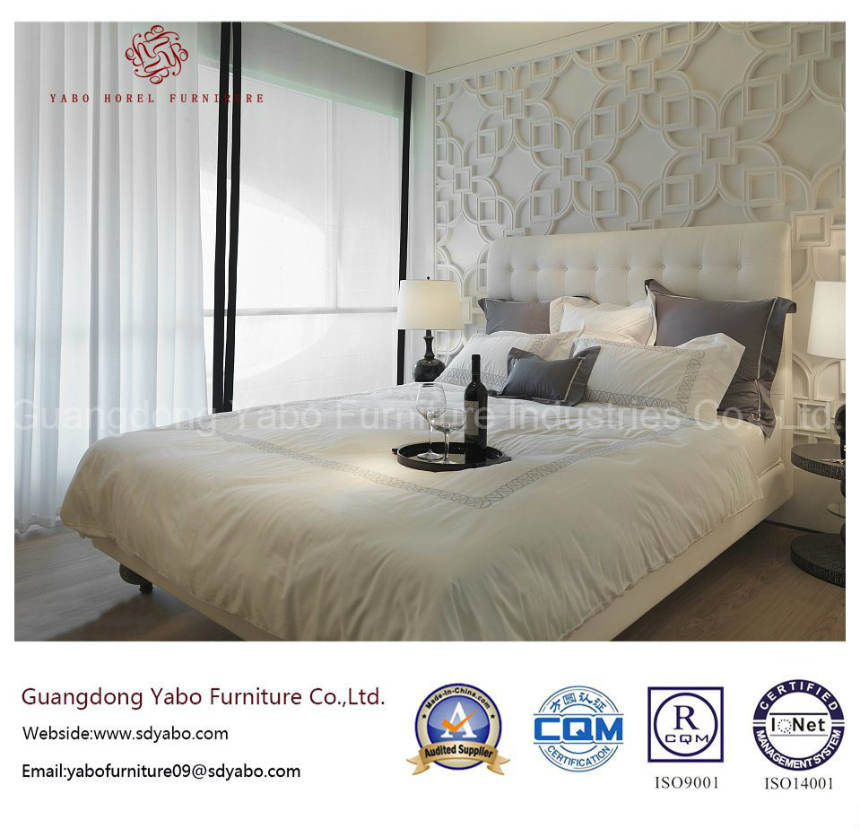 Modern Hotel Bedroom Furniture with Upholstery Bed (YB-WS-83-1)