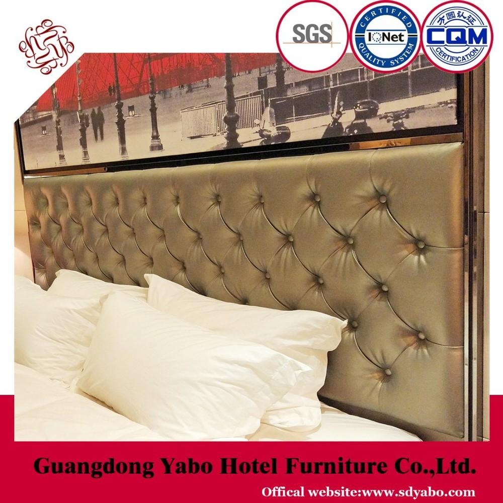 Modern Star Hotel Bedroom Leather Headboard (YB-HE-1)