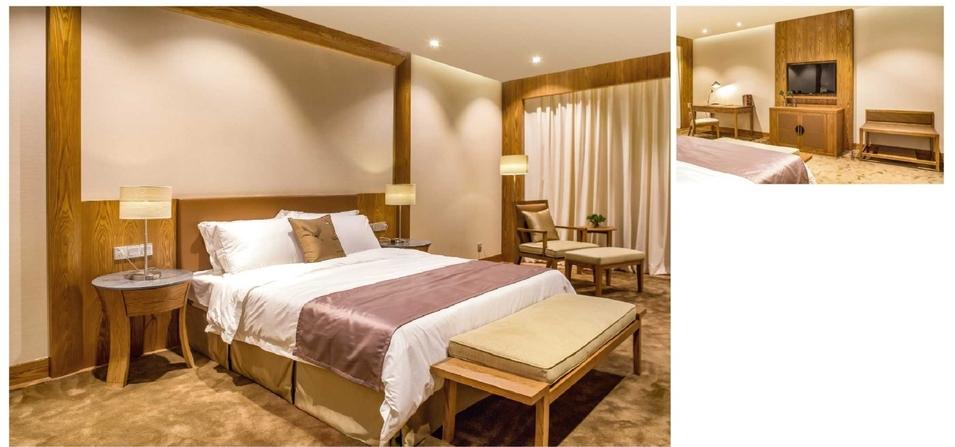 4 Star Modern Luxury Wooden Hotel Furniture Bedroom Set (YB-WS-79)