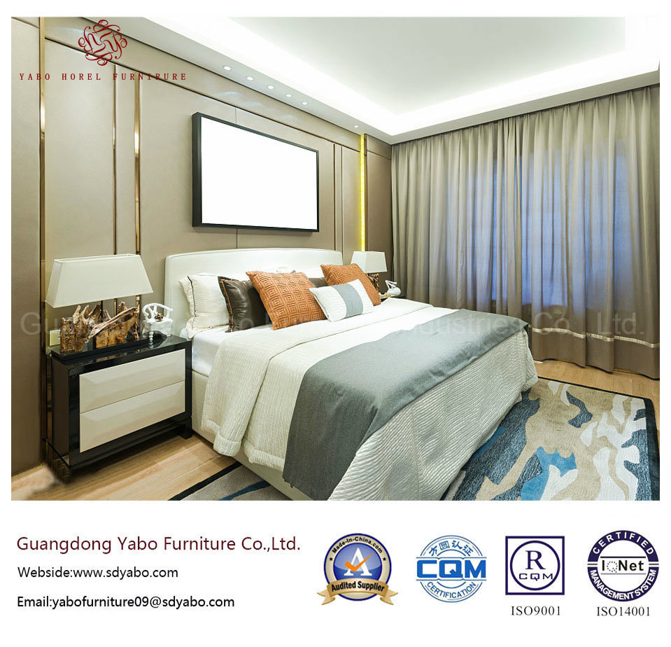 Delicate Hotel Bedroom Furniture for King Room Furnishing (YB-S-4)