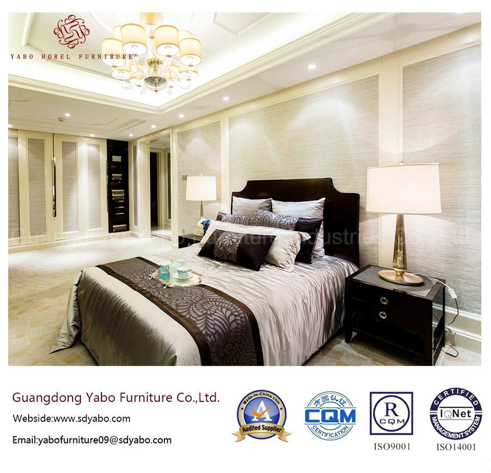 Fashionable Hotel Bedroom Furniture with Hospitality Furnishing (YB-WS-51)