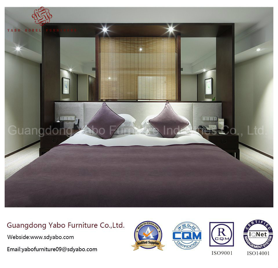 Simple Hotel Bedroom Furniture with Modern Furnishing Set (YB-WS-80)