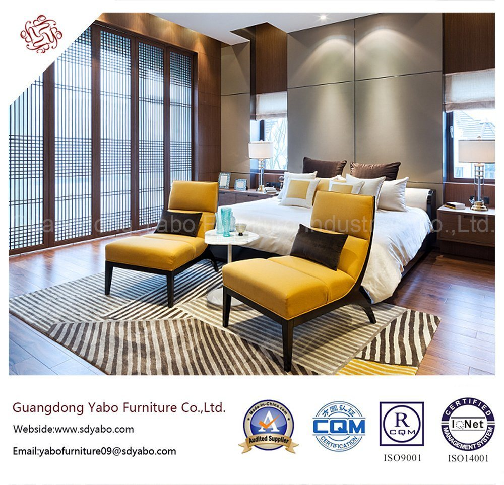 Stylish Hotel Bedroom Furniture with Wood Furnishing for Sale (YB-S-19)