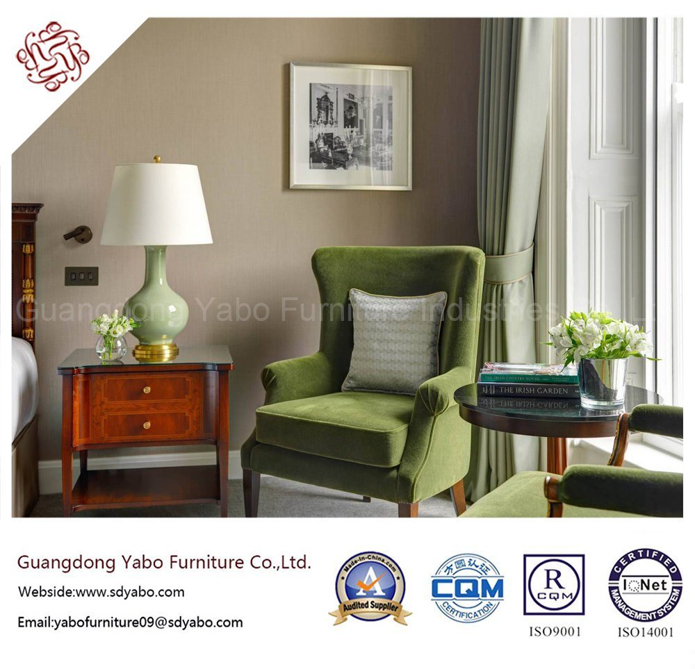 Generous Hotel Bedroom Furniture with Simple Furnishing Set (YB-G-10)