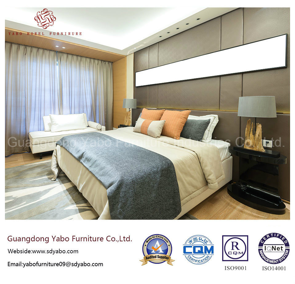 Modern Hotel Bedroom Furniture with Wooden Furnishing (YB-S-8)