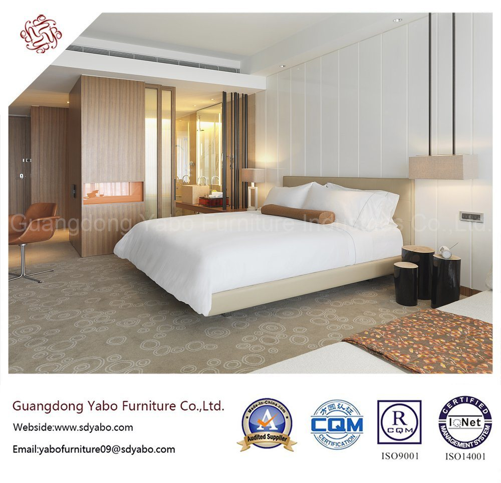 Concise Hotel Bedroom Furniture for King Room Set (YBS818)
