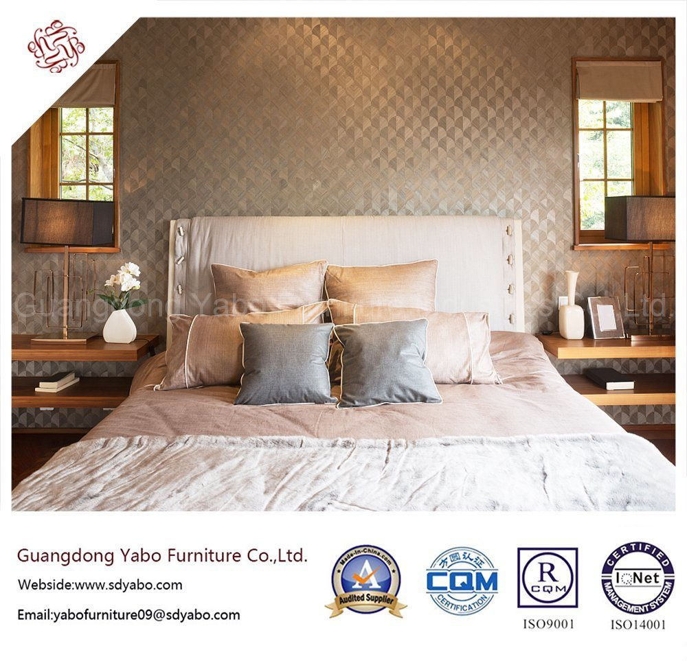 Delicate Hotel Bedroom Furniture with Concise Furnishing (YB-WS-46)