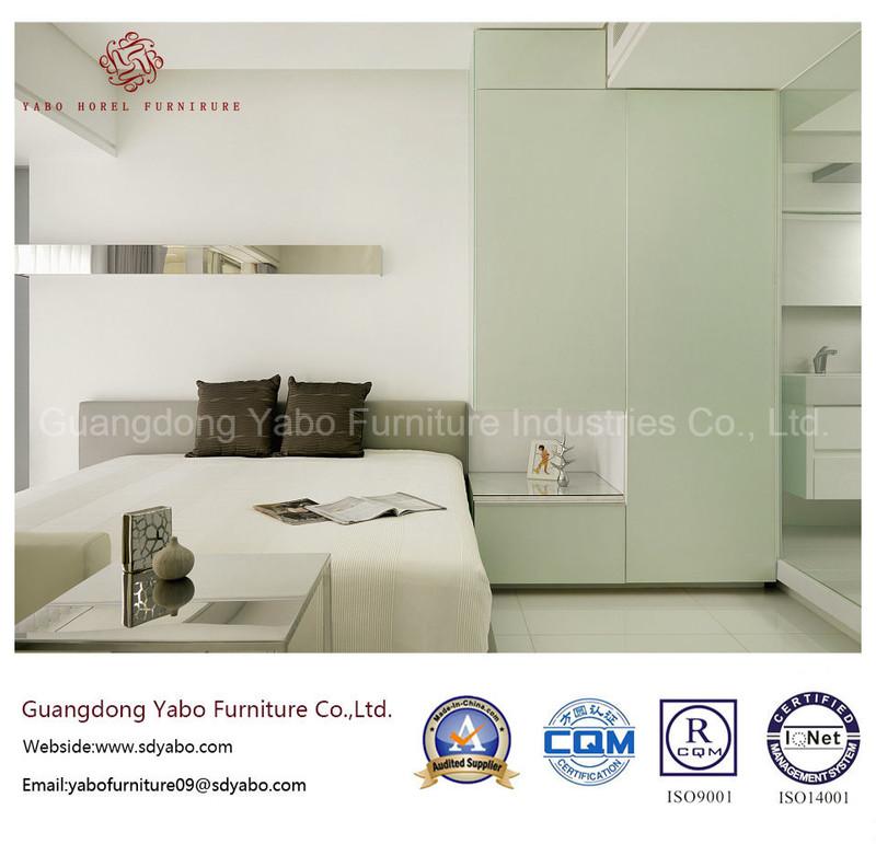 Modern Hotel Bedroom Furniture with Fabulous Furnishing Set (YB-WS-58)
