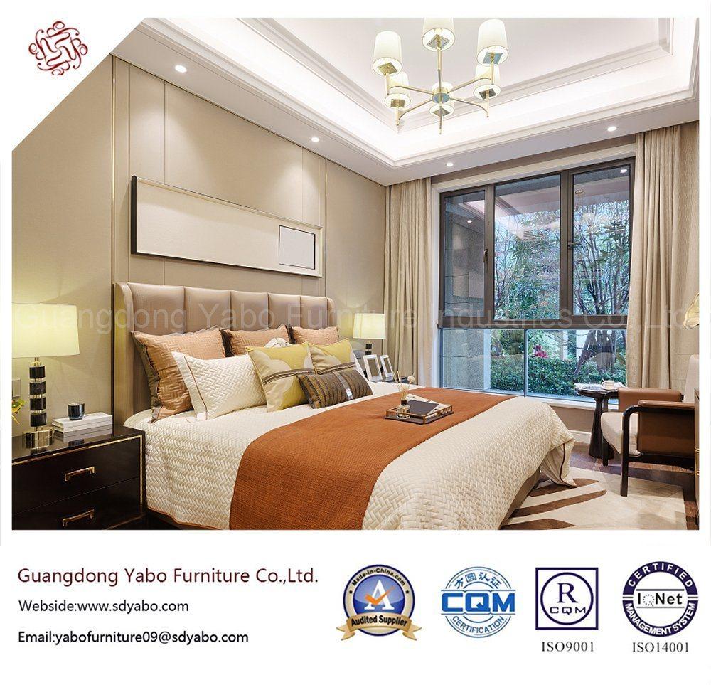 2019 New Design 4 Star Luxury modern Fabric Hotel Bedroom Furniture (YB-WS-35)