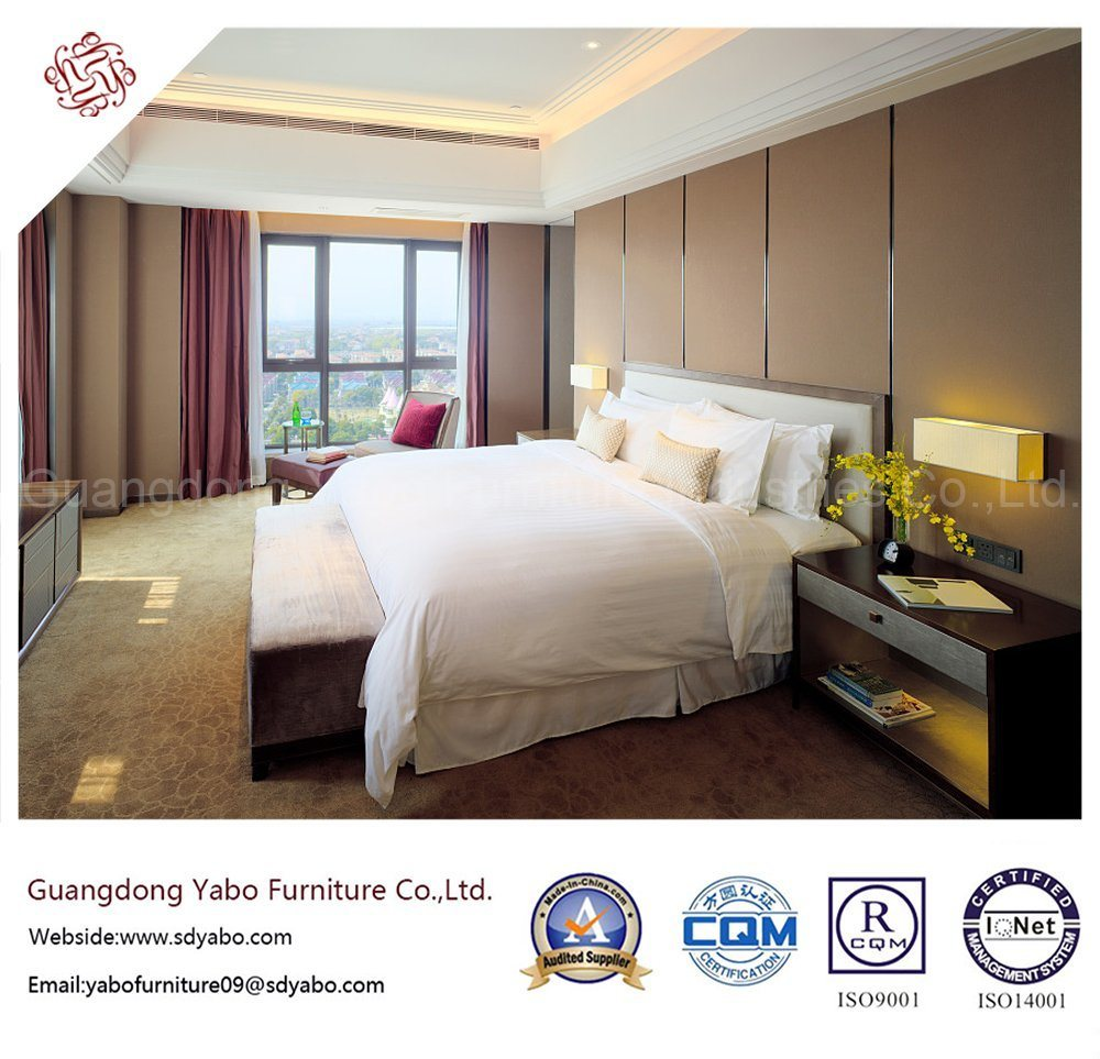 Starred Hotel Bedroom Furniture with Customized Furnishing (YB-WS-13)