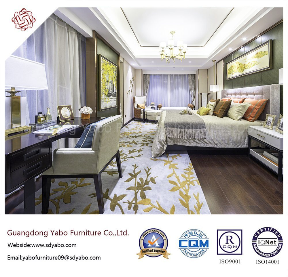 Customized Hotel Bedroom Furniture Made of Solid Wood (YB-WS4)