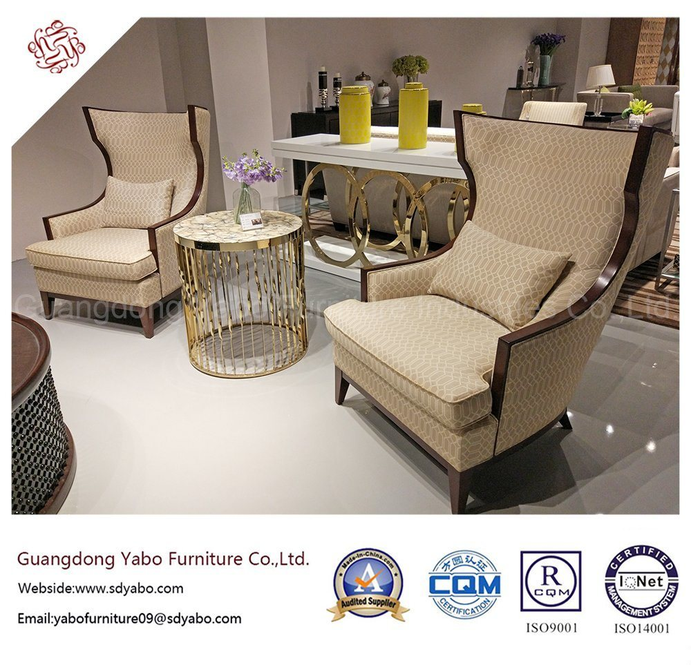 Modern Hotel Furniture with Living Room Wing Chair (YB-D-8)