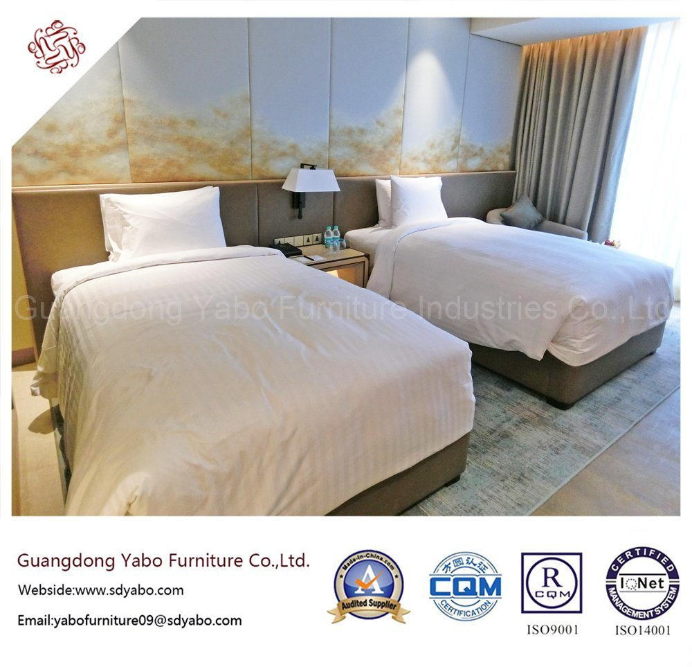 Simple Hotel Bedroom Furniture with Wooden Furniture Set (YB-YDYDE)