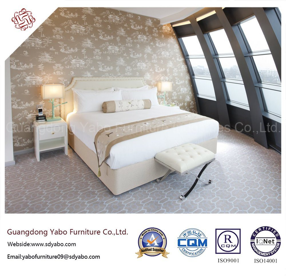 Fashionable Hotel Bedroom Furniture with Furnishing Set (YB-D-38)