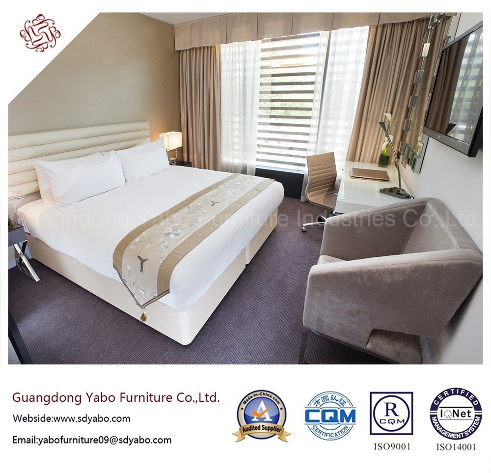Wonderful Hotel Bedroom Furniture with Double Bed (YB-D-39)