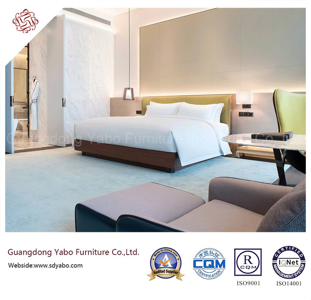 Wonderful Hotel Bedroom Furniture with Delicate Design (YB-GN-3-1)