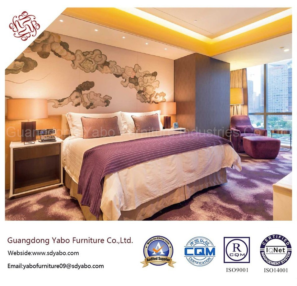 Foshan Factory 3-5 Star Customized Wooden Contemporary Hotel Bedroom Furniture