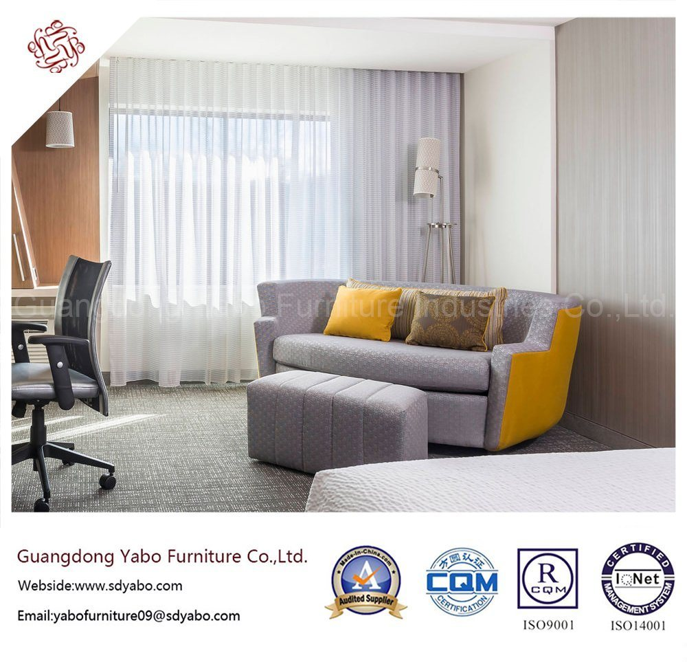 Delicate Hotel Bedroom Furniture with Double Bed (YB-O-91)