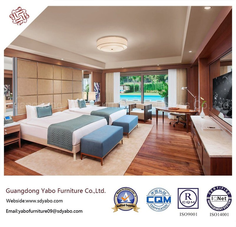 Fabulous Hotel Bedroom Furniture with Delicate Design (YB-S-12)