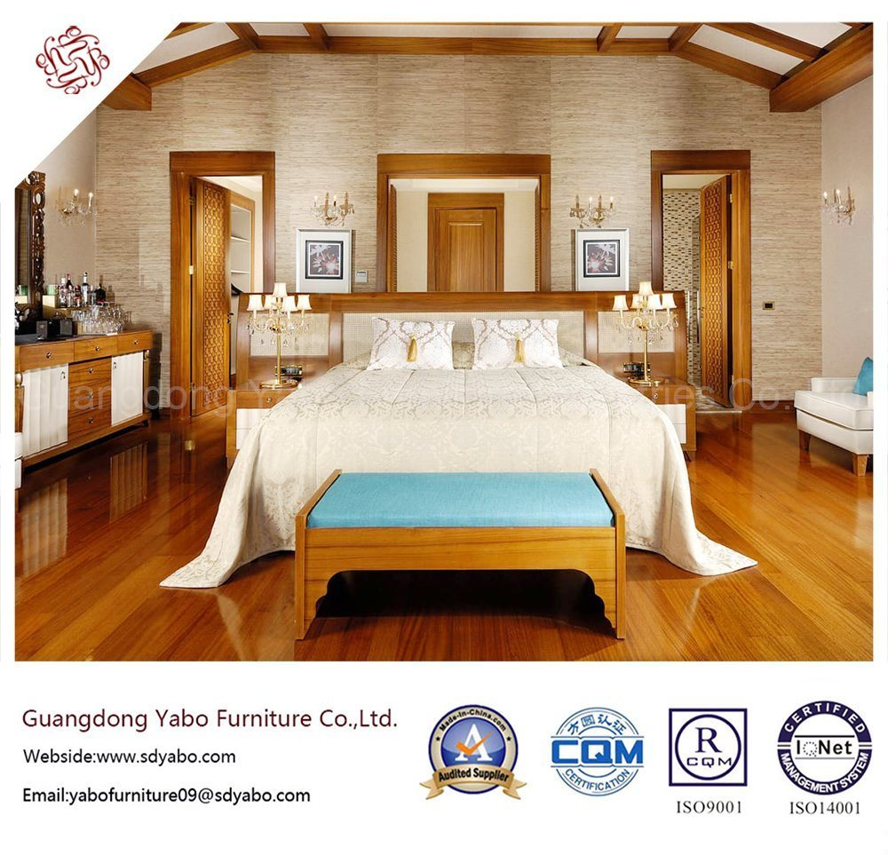 Fantanstic Hotel Bedroom Furniture with Wooden Finish (YB-S-14)