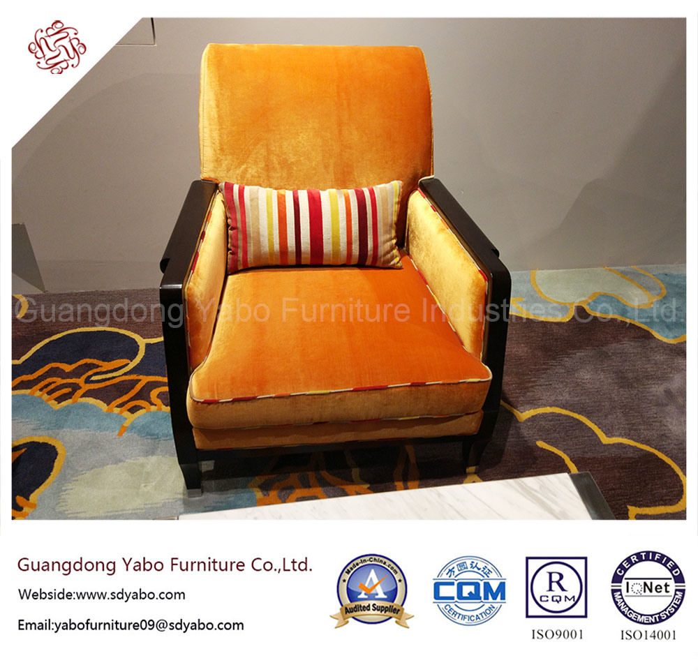 Modern Hotel Furniture with Living Room Fabric Armchair (7888)