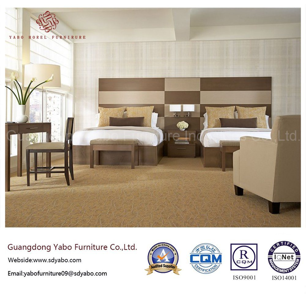 5 Star Luxury Hotel Furniture for Wood Bedroom Furniture (YBS119)