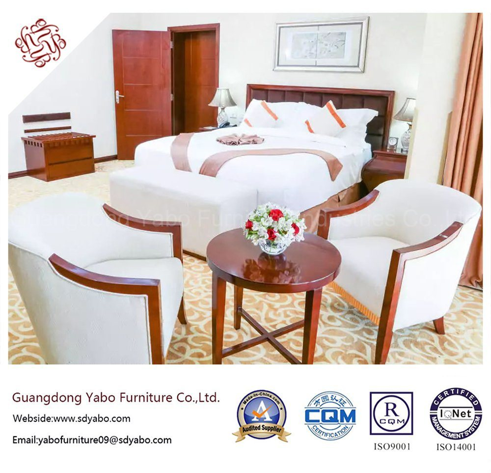 Creative Hotel Furniture with Standard Bedroom Furniture Set (YB-G-18)