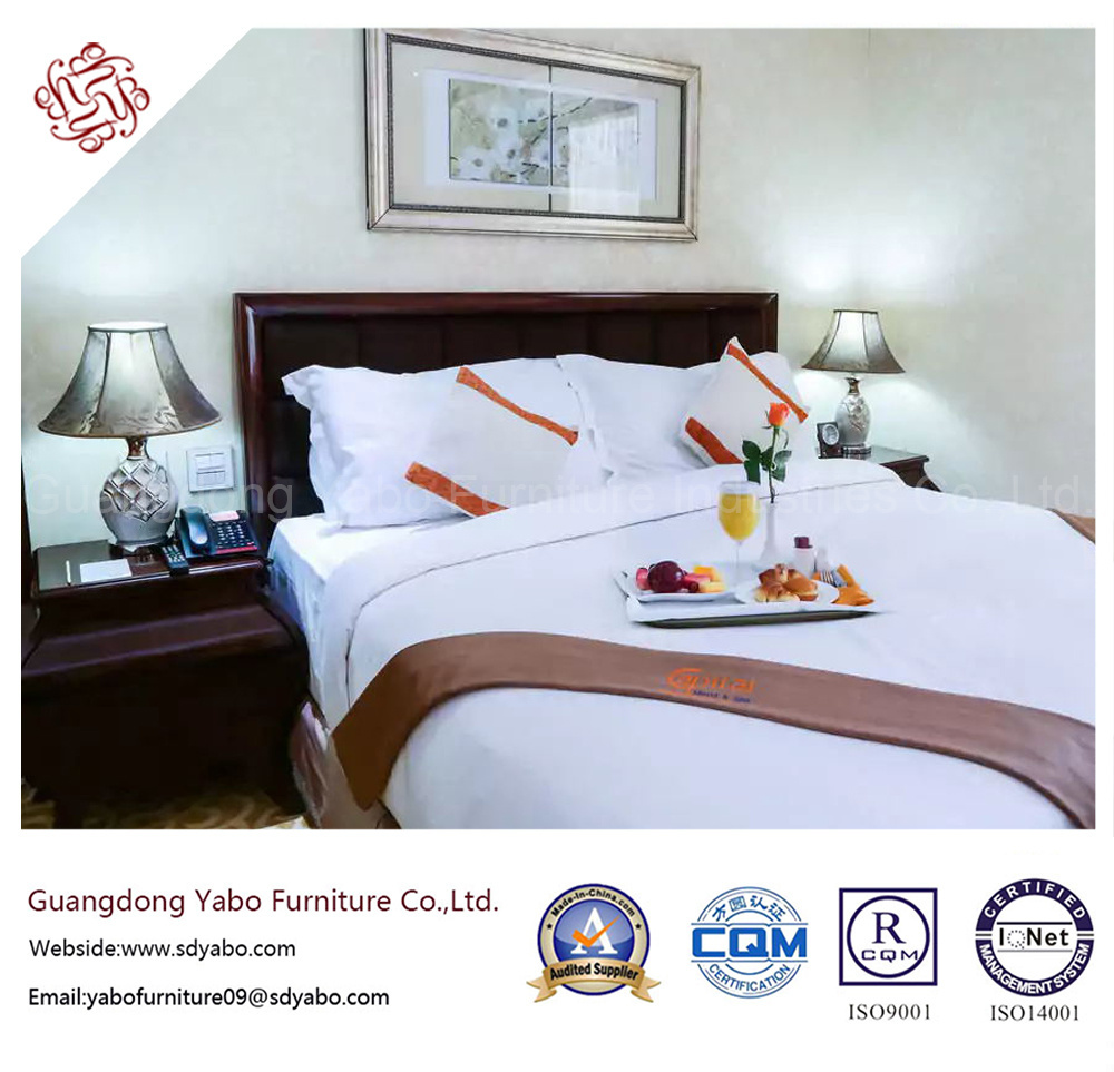 Creative Hotel Furniture with Standard Bedroom Furniture Set (YB-G-18)