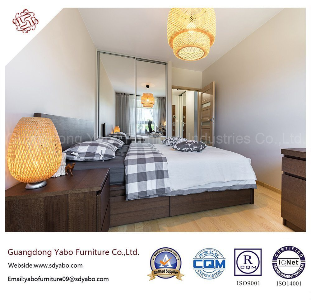 Wooden Hotel Furniture for King Bedroom with Furniture Set (YB819)