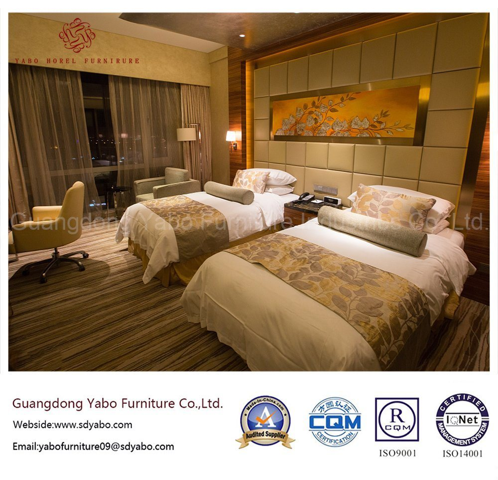 Custom Hotel Furniture with Standard Bedroom Furniture Set (YB-WS-85)