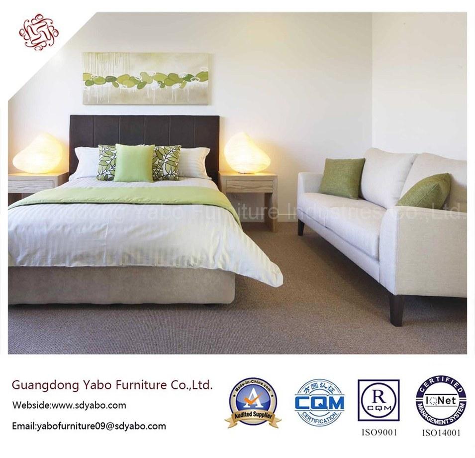 Splendid Hotel Furniture with Wooden Bedroom Furnishing Set (YB-H-18)