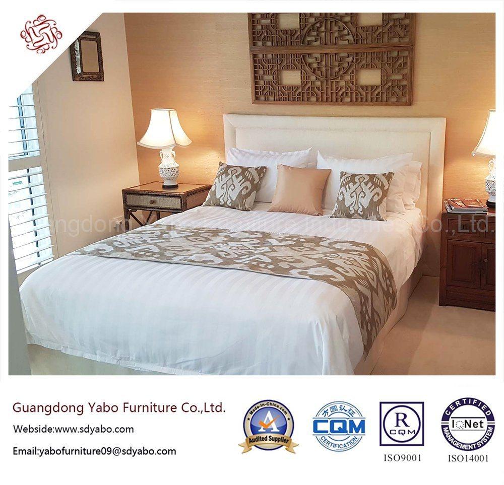Custom Made Hotel Furniture with Fabric Bedroom Furnishing (YB-H-23)