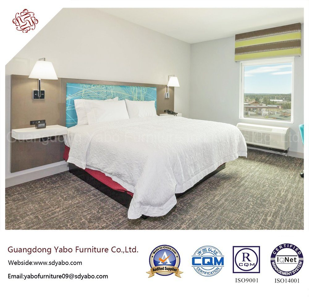 Contemporary Hotel Furniture with Bedding Room Set (YB-S-7)
