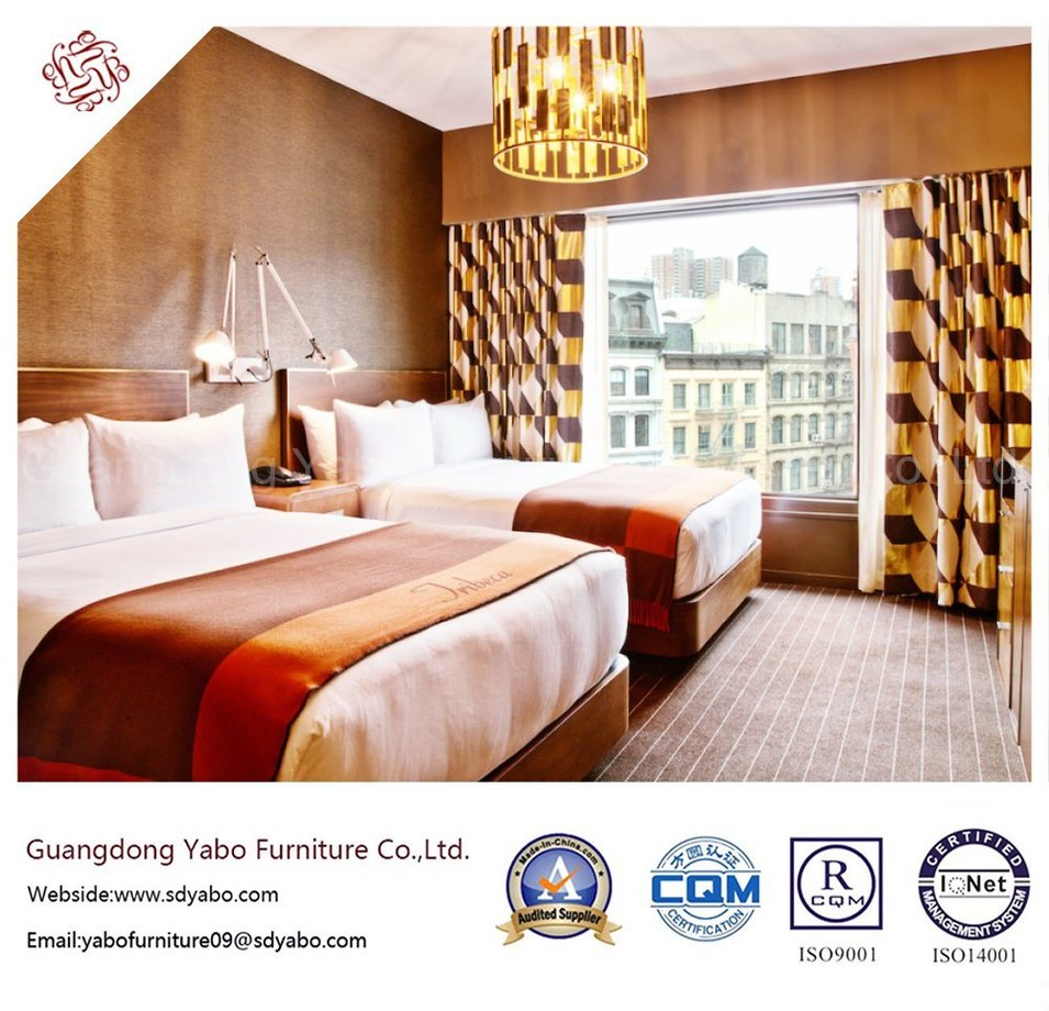 Stylish Hotel Furniture with Unique Design Bed Room Set (YB-S-27)