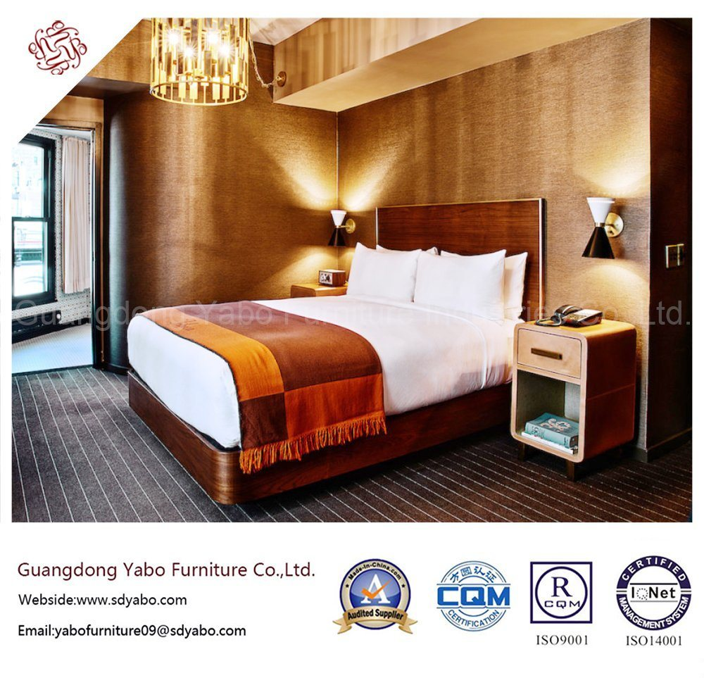 Wooden Hotel Furniture with Bedding Room Set (YB-S-28)